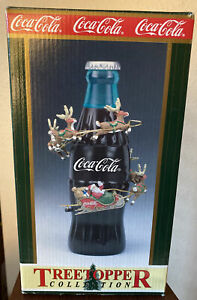 Coca-Cola Coke Christmas Decoration Tree Topper Animation TreeTopper Collection