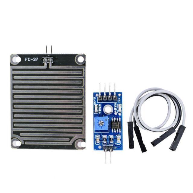 Raindrops Detection Sensor Modue Rain Weather Module For Arduino 3.3V-5V