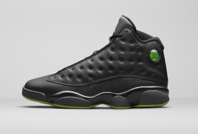 purchase cheap f4a57 05bf2 Nike Air Jordan 13 XIII size 14. Black Altitude Green. 414571-042. playoff
