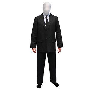 SALE-Morphsuits-Scary-Slender-Man-Fancy-Dress-Costume-Slenderman-for-Halloween