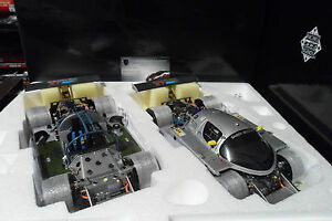Set Mercedes Sauber C9 # 63 Winner 24h Le Mans 1989 1/18 Exoto Rlg 18196 Voiture