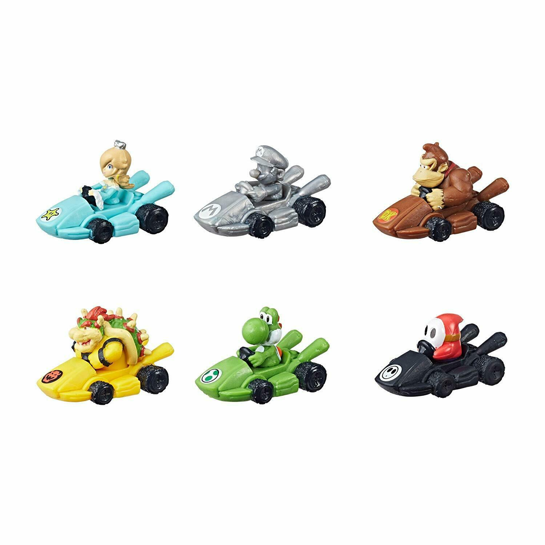 Satz Super Mario Monopoly Spiel Figuren Set alle 6 Figuren Neu   Ovp Deutsch