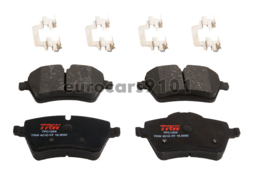New Mini Cooper TRW Front Brake Pad Set TPC1204 34116778320