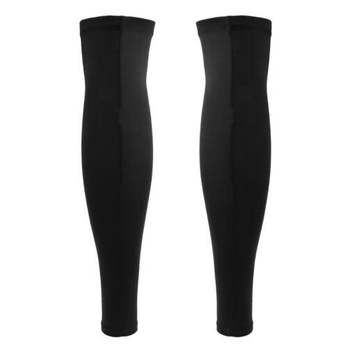 Compression Leg Sleeves Stockings Leg Thigh Sleeve Running Jogging Fitness