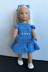 Clothes-for-6-034-Mini-American-Girl-Doll-Vinyl-Body-Handmade-Dress-OOAK-Lot-MAG-14
