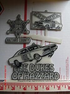 Dukes of Hazzard Christmas Ornaments,General Lee, Dodge Charger,01,1982WB,Hazard