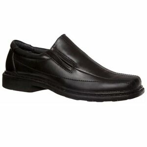 MENS-GROSBY-CLASSIC-BLACK-DRESS-WORK-FORMAL-DRESS-SHOES-MEN-039-S-SLIP-ON-SHOES