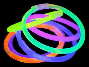 Image Is Loading Glow Sticks Connectors New Bracelet Necklace Neon Bracelets