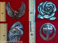 Chicago Screw Conchos -1 Set Of 2- 21 Styles To Choose From