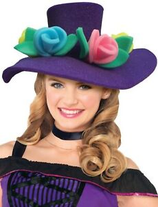 Mesdames Géant En Mousse Fleurs Hen Do Soirée Amusante Comédie Fancy Dress Costume Hat-afficher Le Titre D'origine