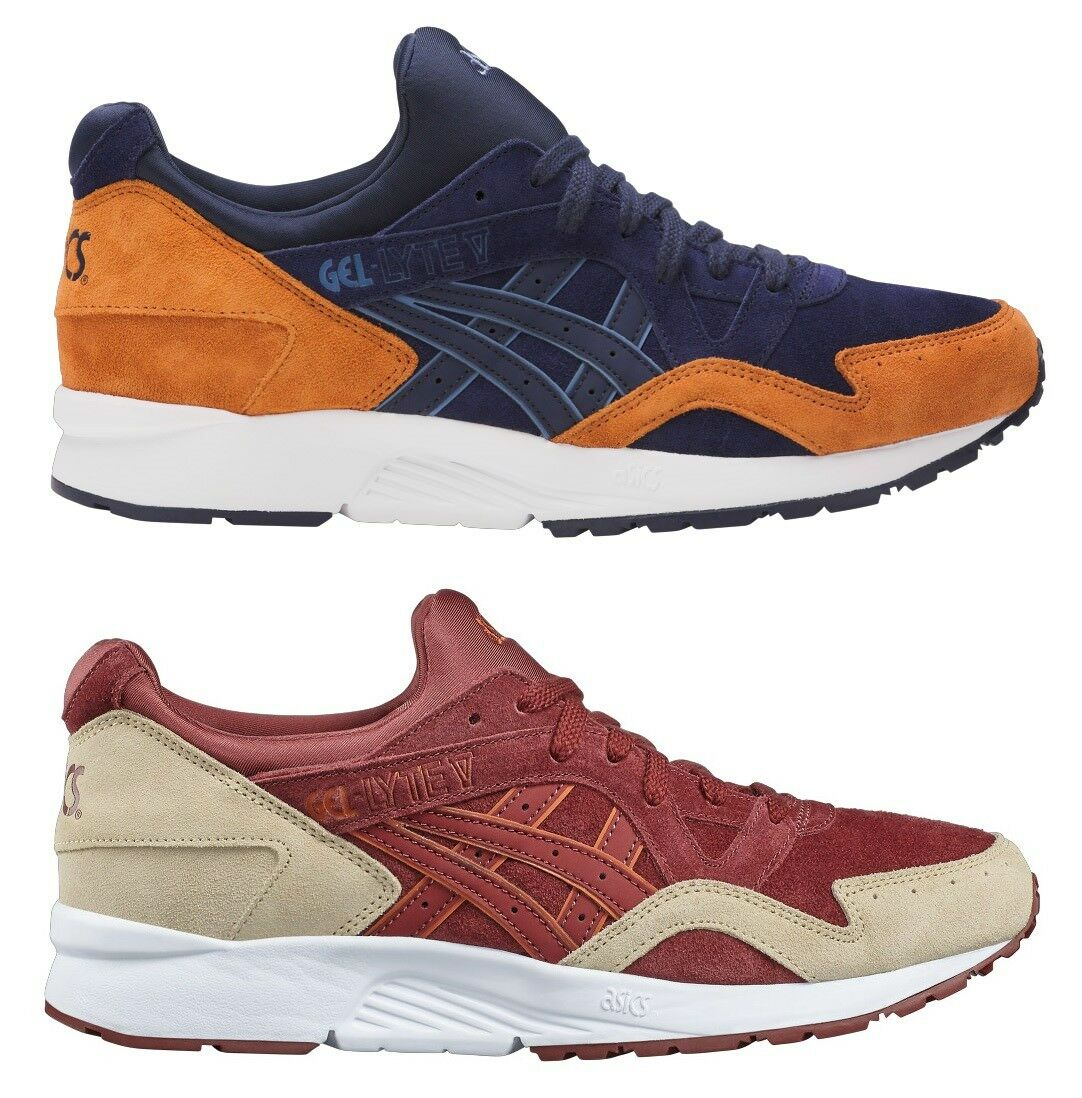 SCARPE SHOES ASICS ONITSUKA TIGER 100% GEL LYTE V 5 100% TIGER LEATHER SUEDE SHUHE LIMITED ba1e58