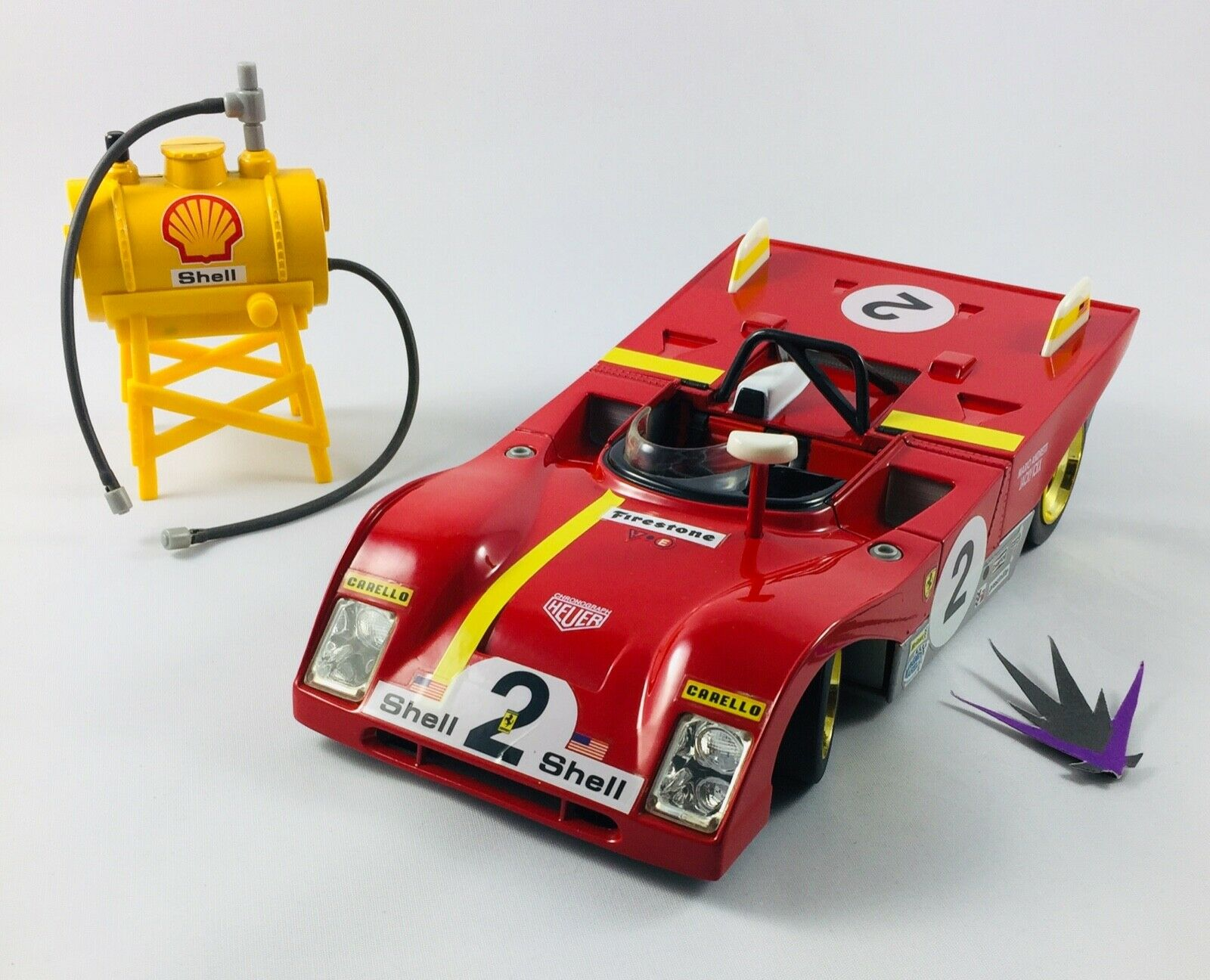 Ferrari 312 P 1972 Hot Wheels 1 18 no box