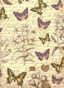 Nostalgiepapier 50 x 70 cm Italienisches Buntpapier Überzugspapier