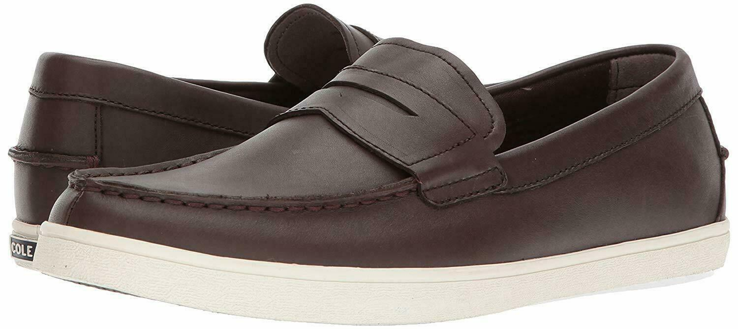 Cole Haan C26467 Men braun Leather Hyannis Penny Loafer II Slip On Casual schuhe