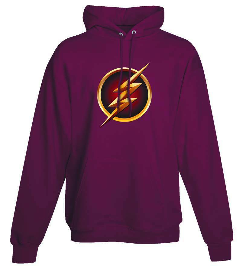 The Flash Pullover TV Symbol Uomo Pullover Flash Hoodie Sweatshirt ba5834