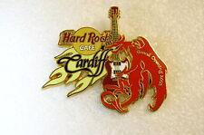 CARDIFF,Hard Rock Cafe Pin,GRAND OPENING *CLOSED* VHTF