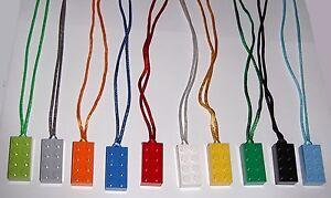 25-LEGO-BRICK-NECKLACES-BOY-GIRL-COLOR-CORDS-PARTY-FAVORS-BIG-SALE