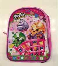 "NEW SHOPKINS GIRLS PINK 10"" MINI BACKPACK GIRLS PURSE TRAVEL BAG"