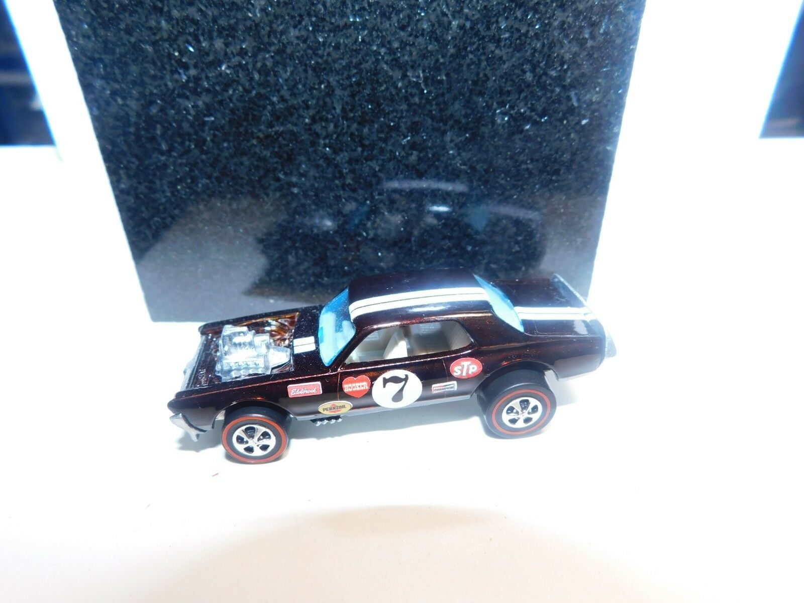 Nitty Gritty Kitty Original Hot wheels rougeline Premium RESTORATION Marron