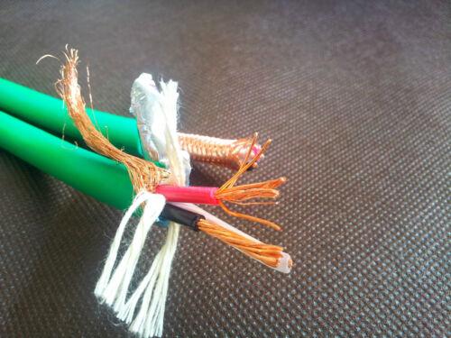 Hifi Copper US Mains AC Power Cable Rhodium Plug Male IEC Connector
