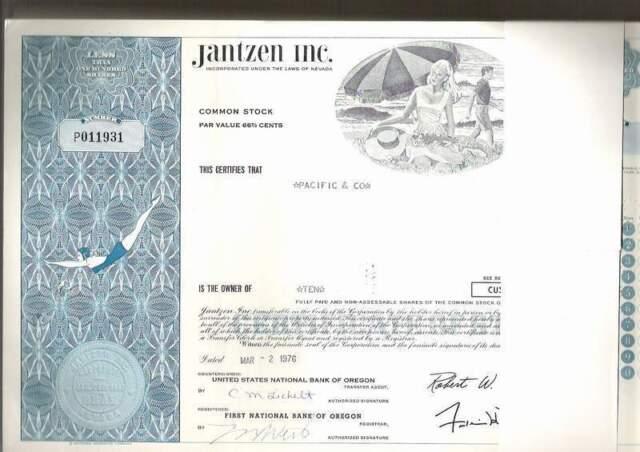 Jantzen Inc., 1960s, blue