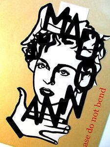 MADONNA-Original-Pop-Art-Music-Celebritie-Vinyl-Sticker-5-X9-inches-Portrait