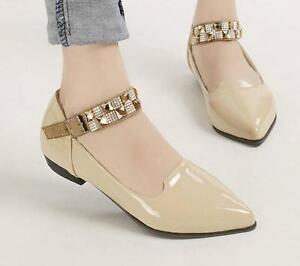 Ballerine-mocassini-scarpe-donna-rasoterra-beige-tacco-2-cm-comode-8263