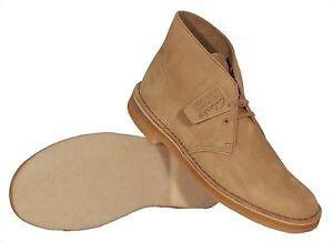 Clarks Originals Desert Boot Men's Casual Shoes Nubuck 26118565 Bronze