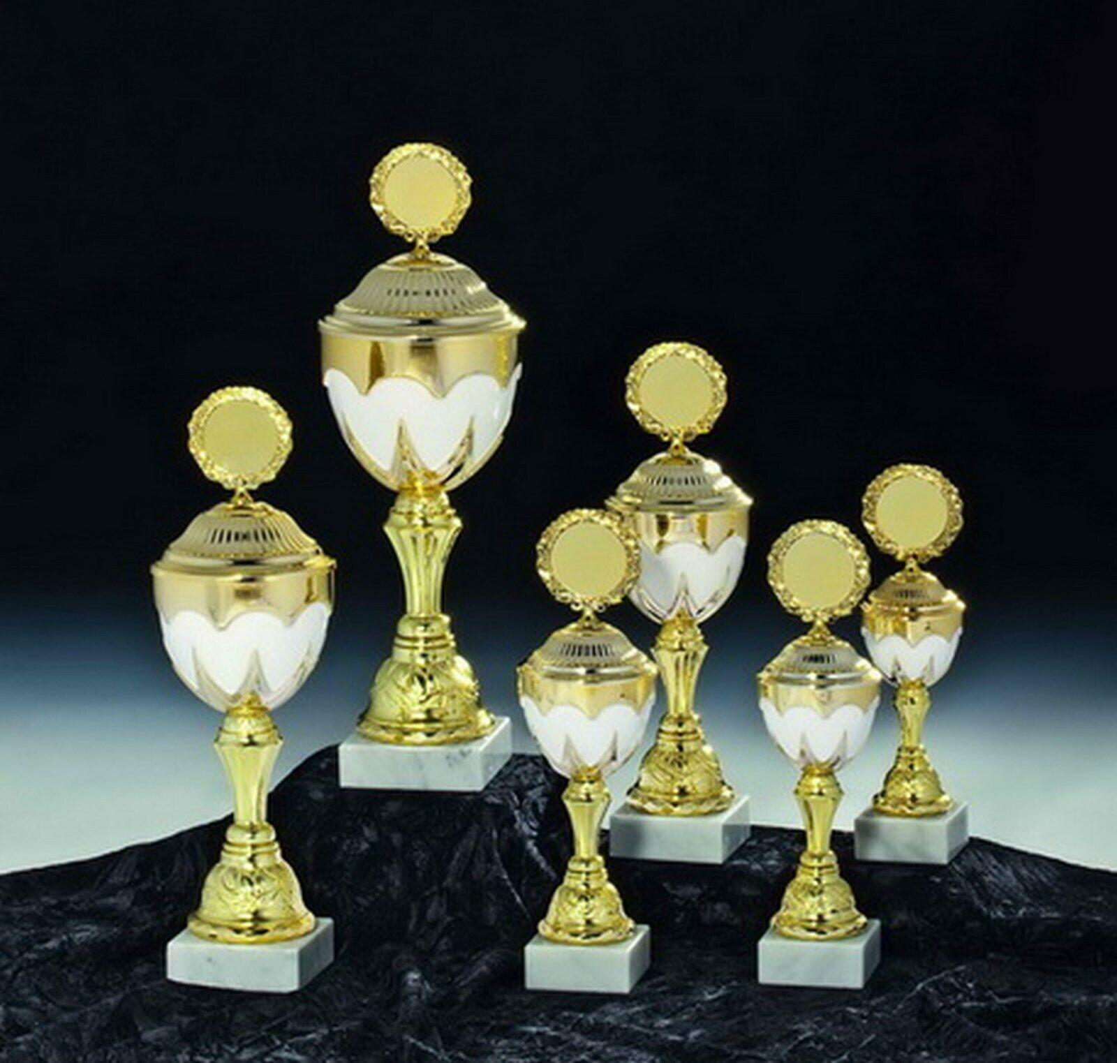 3er serie trofeos con emblema + grabado 43 39 35cm  k949 (filosofar trofeo ganador)
