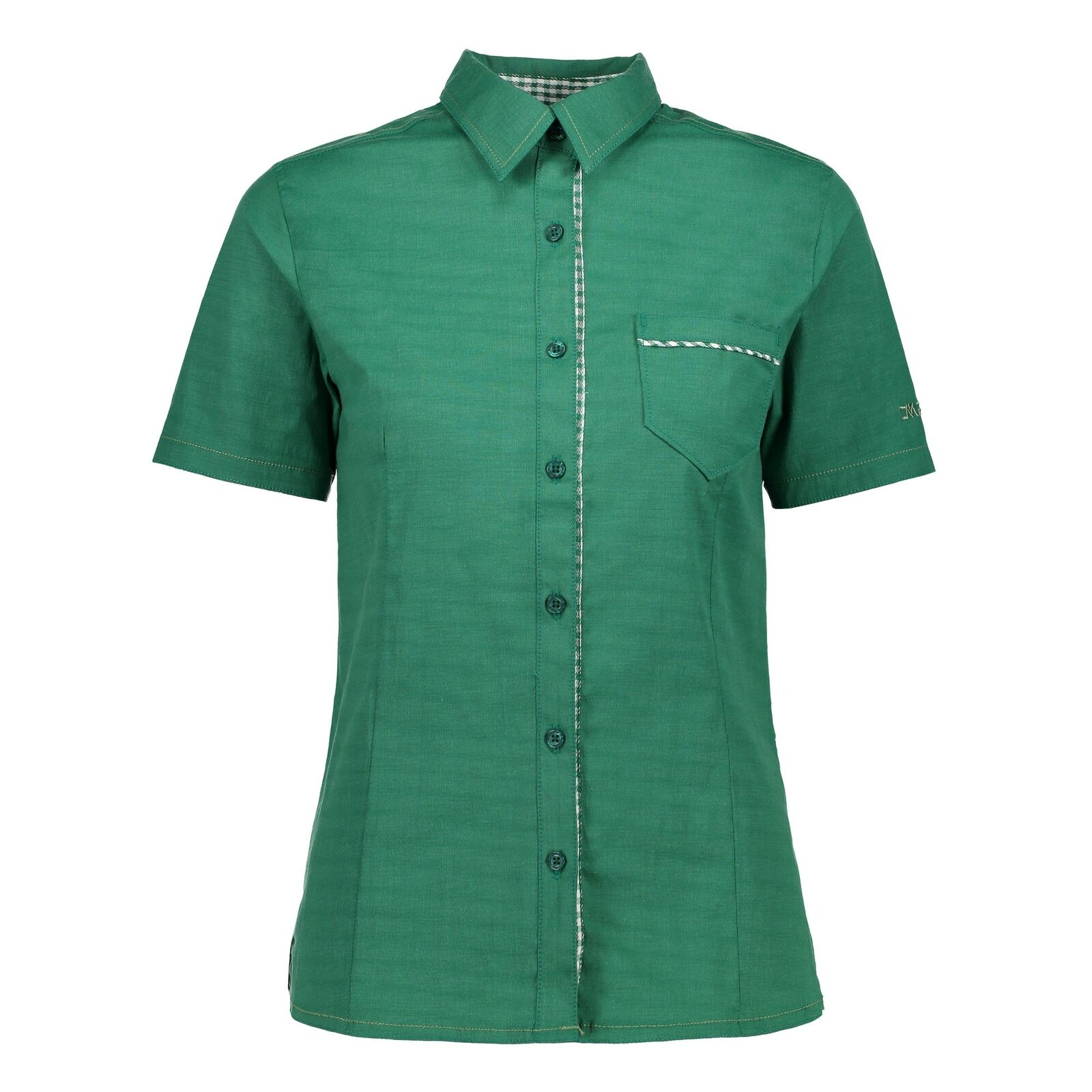 CMP woman blouse shirt green breathable fast drying elastic plain   all products get up to 34% off