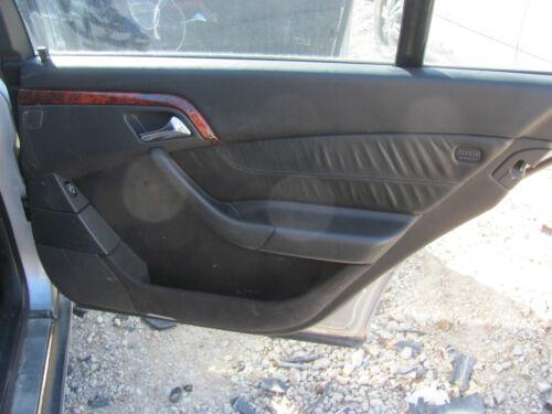 2000-2006 MERCEDES-BENZ W220 S430 S500 RIGHT REAR INTERIOR DOOR PANEL BLACK