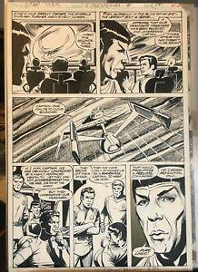 RARE! MARVEL SUPER SPECIAL #15 Pg 24 Star Trek DAVE COCKRUM Original Art 1980