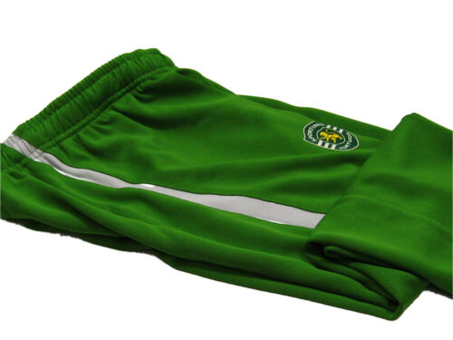 New Puma Boys SPORTING LISBON Football Training Pants Green Boys XS Age 5-6 Yrs