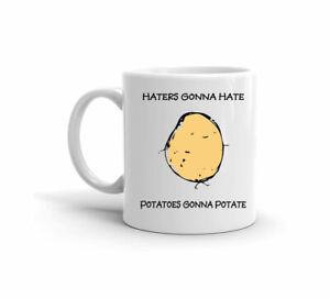 Gli-odiatori-Gon-ODIO-patate-Gon-na-na-potate-Regalo-Carino-11-OZ-Tazza-da-caffe