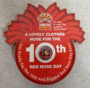 Red Nose Day PIN