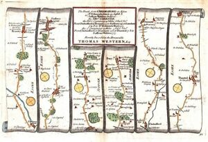 Antique-map-The-Roads-from-Chelmsford-to-St-Edmunds-Bury-amp-to-Saffron-Walden