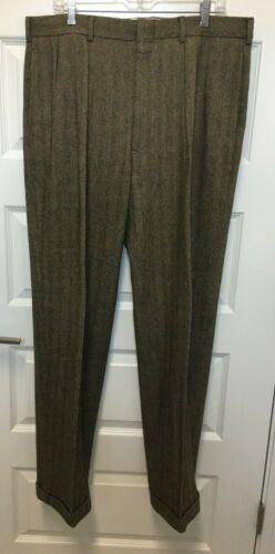 vintage Polo by Ralph Lauren men's wool slacks bro