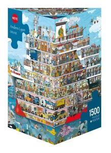(HY29697) - Heye Puzzles - Triangular , 1500 Pc - Cruise, Lyon
