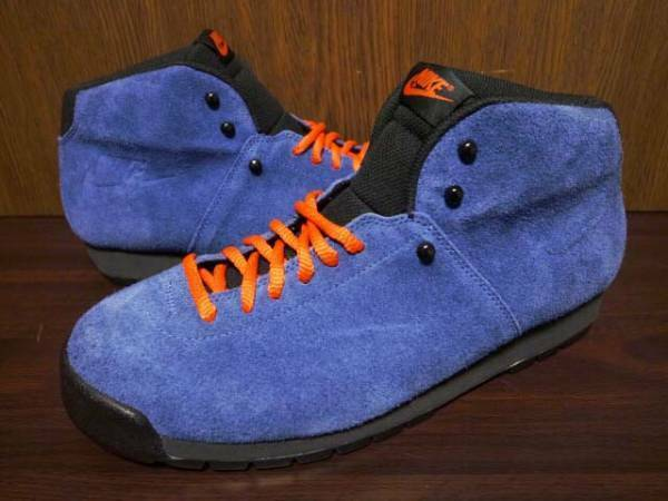 NOT FOR SALE SAMPLE NIKE AIR MAGMA  SNEAKERS blueE US 9 27.0CM ONLY HARAJUKU