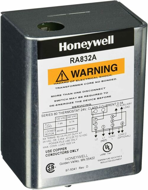 Honeywell Ra832a1066 Hydronic Switching Relay