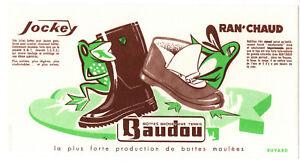 Buvard Bottes Baudou (jockey, Ran'chaud)