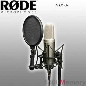 rode nt2 a studio microphone mic bundle complete professional recording package 698813000395 ebay. Black Bedroom Furniture Sets. Home Design Ideas