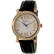 Invicta Women's Vintage 25752 Black Leather Watch