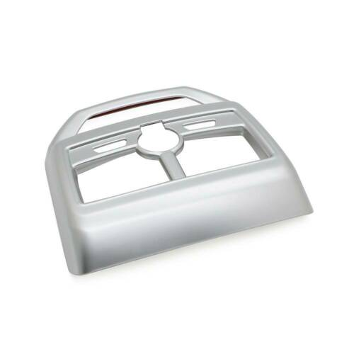 Interior Rear Air Vent Cover Trim Outlet Panel Frame For Peugeot 3008 GT Silver