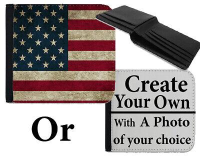 Aggressivo Portafoglio America Bandiera Americana Usa Stati Uniti Stelle E Strisce Borsa Bag B775-mostra Il Titolo Originale