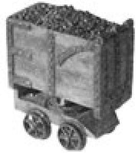 Durango-Press-HO-Mine-Car-New-Free-Shipping