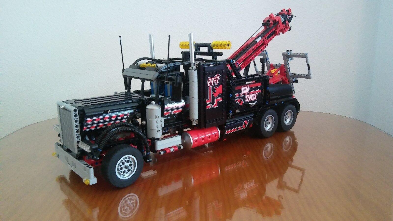 Lego 8285 Camión Grúa Technic.  Usado 100% completo, con recetas, no scatola  prendi l'ultimo