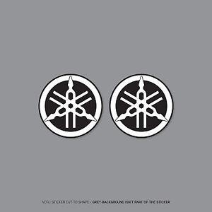 SKU2198-2-x-Yamaha-Tank-Panel-Round-Emblems-Decals-Stickers-50mm