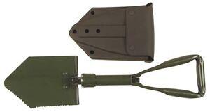 Constructif Alu Pliante Pelle Nouveau Bw Modèle Avec Gebr. Sac German Army E-tool Spade-afficher Le Titre D'origine