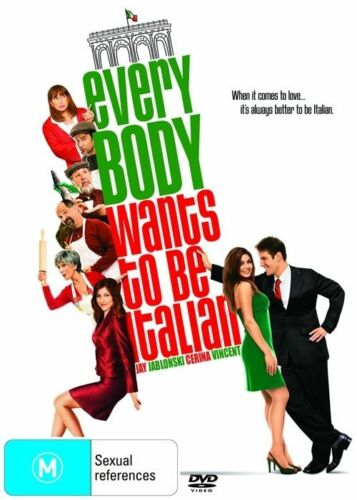 1 of 1 - Everybody Wants to Be Italian NEW R4 DVD